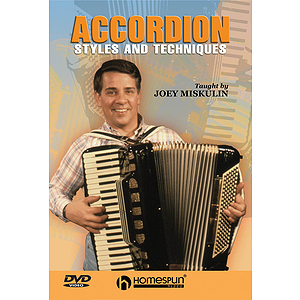 Accordion Styles and Techniques (DVD)