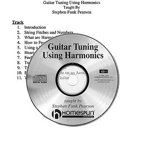 Guitar Tuning Using Harmonics