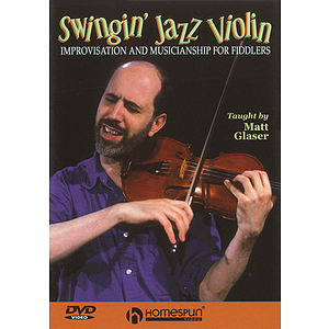 Swingin' Jazz Violin (DVD)
