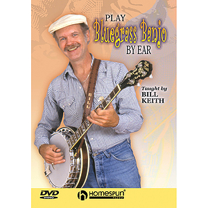 Play Bluegrass Banjo by Ear (DVD)