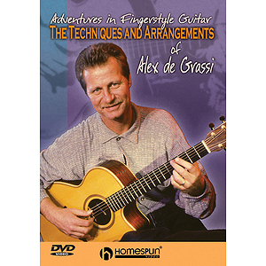 The Techniques and Arrangements of Alex de Grassi (DVD)
