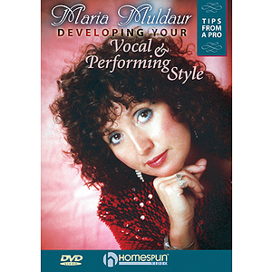Developing Your Vocal and Performing Style (DVD)