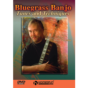 Bluegrass Banjo Tunes & Techniques (DVD)