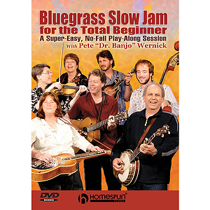 Bluegrass Slow Jam for the Total Beginner (DVD)