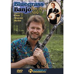 Bluegrass Banjo - Don Reno Style (DVD)