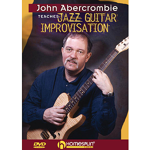 John Abercrombie Teaches Jazz Guitar Improvisation (DVD)