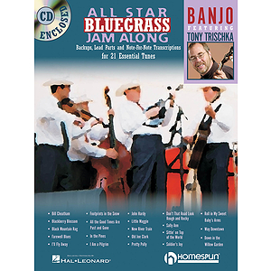 All Star Bluegrass Jam Along for Banjo