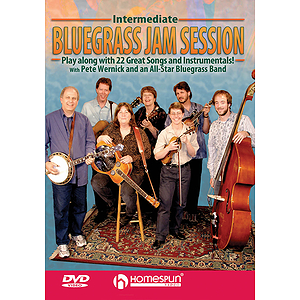 Intermediate Bluegrass Jam Session (DVD)