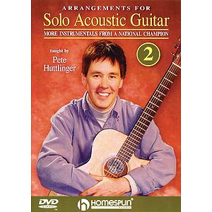 Arrangements for Solo Acoustic Guitar - Lesson Two (DVD)