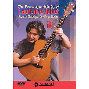 The Fingerstyle Artistry of Laurence Juber (DVD)