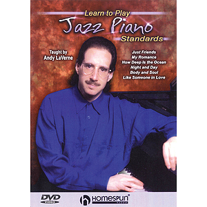 Learn to Play Jazz Piano Standards (DVD)