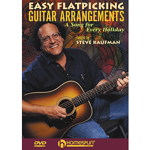 Easy Flatpicking Guitar Arrangements (DVD)