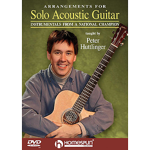 Arrangements for Solo Acoustic Guitar (DVD)