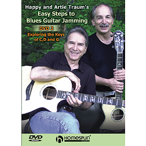 Happy & Artie Traum - Easy Steps to Blues Guitar Jamming (DVD)
