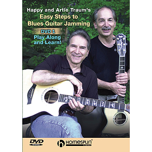 Easy Steps to Blues Guitar Jamming (DVD)