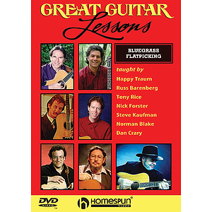 Great Guitar Lessons - Bluegrass Flatpicking (DVD)