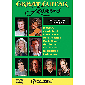 Great Guitar Lessons - Fingerstyle Techniques (DVD)