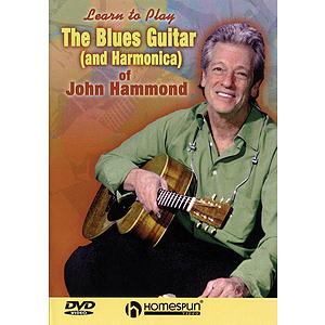 The Blues Guitar (and Harmonica) of John Hammond (DVD)