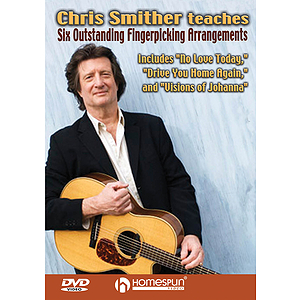 Chris Smither Teaches Six Outstanding Fingerpicking Arrangements (dvd)