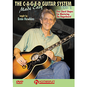 The C-A-G-E-D Guitar System Made Easy (DVD)