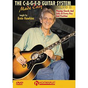 The C-A-G-E-D Guitar System Made Easy (DVD)