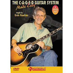 The C-A-G-E-D Guitar System Made Easy, DVD 1 & 2
