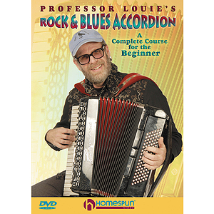 Professor Louie's Rock & Blues Accordion (DVD)