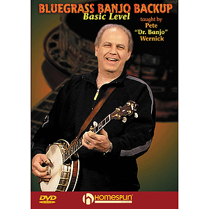 Bluegrass Banjo Backup (DVD)
