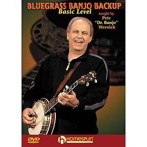 Bluegrass Banjo Backup (DVD)
