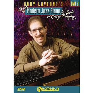 Andy LaVerne's Guide to Jazz Piano (DVD)