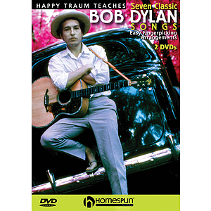 Happy Traum Teaches Seven Classic Bob Dylan Songs (DVD)
