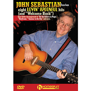 John Sebastian Teaches Eight Lovin' Spoonful Hits and Welcome Back (DVD)