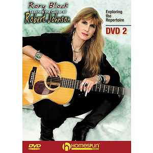 Rory Block Teaches the Guitar of Robert Johnson (DVD)
