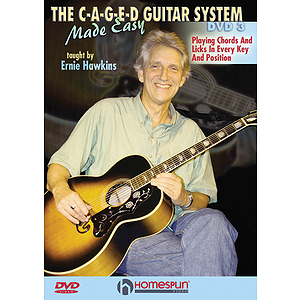 The C-A-G-E-D Guitar System Made Easy, DVDs 1, 2 & 3