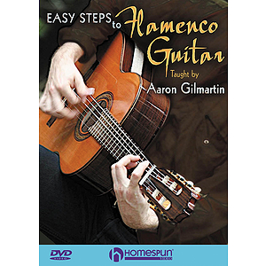 Easy Steps to Flamenco Guitar (DVD)