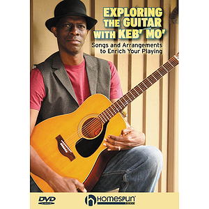 Exploring the Guitar with Keb&#039; Mo&#039; (DVD)