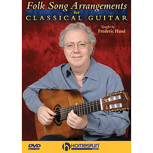 Folk Song Arrangements for Classical Guitar (DVD)