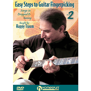 Easy Steps to Guitar Fingerpicking (DVD)