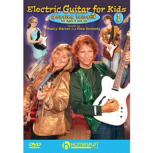 Electric Guitar for Kids (DVD)