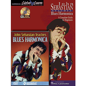 John Sebastian - Harmonica Bundle Pack (DVD)