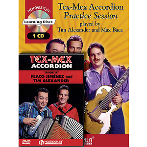 Tim Alexander - Tex-Mex Accordion Bundle Pack (DVD)