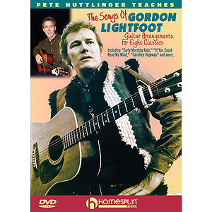 Learn to Play the Songs of Gordon Lightfoot (DVD)