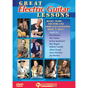 Great Electric Guitar Lessons (DVD)