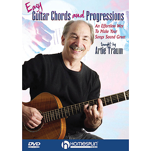 Easy Guitar Chords and Progressions (DVD)