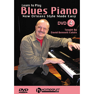 Learn to Play Blues Piano (DVD)