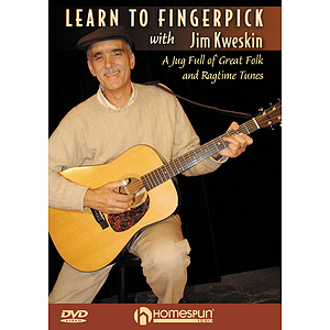 Learn to Fingerpick with Jim Kweskin (DVD)