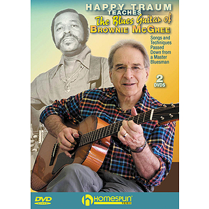 Happy Traum Teaches¦the Blues Guitar of Brownie McGhee (DVD)