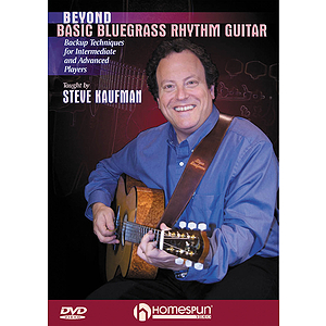 Beyond Basic Bluegrass Rhythm Guitar (DVD)