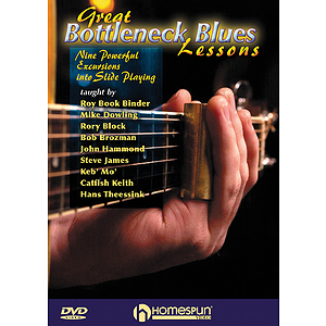 Great Bottleneck Blues Lessons (DVD)