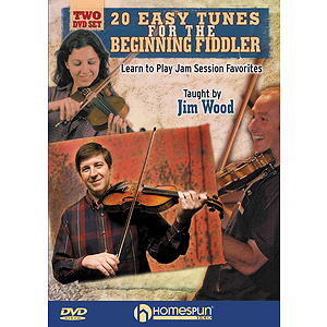 20 Easy Tunes for the Beginning Fiddler (DVD)
